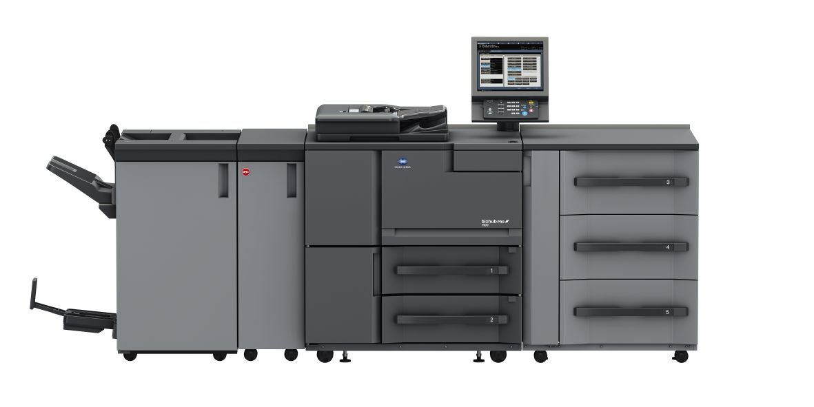 Stampante professionale Konica Minolta bizhub pro 1100