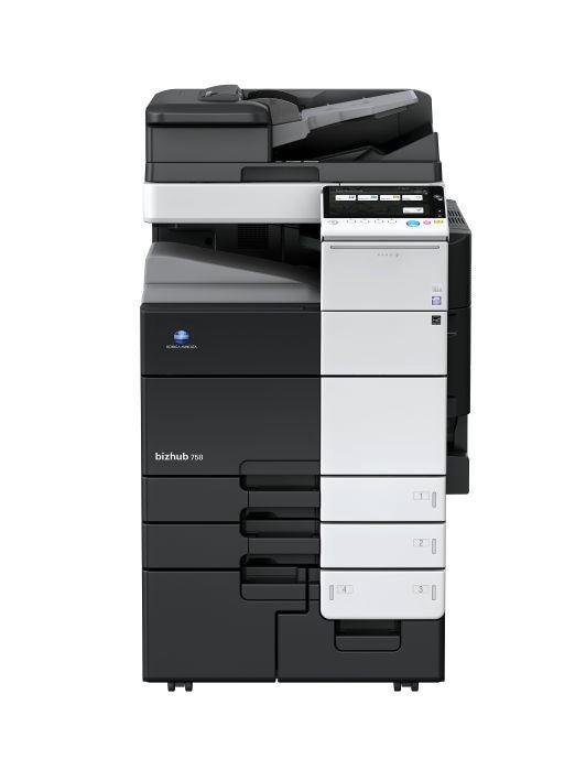 Stampante per ufficio Konica Minolta bizhub 758