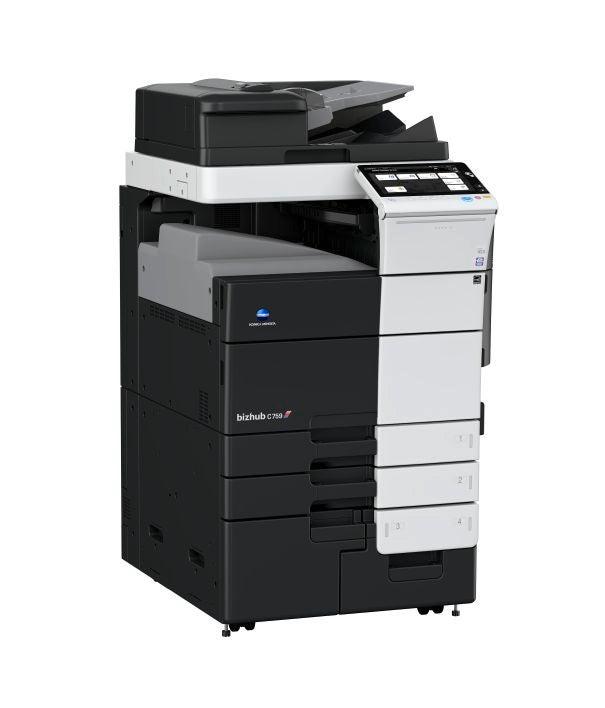 Konica Minolta bizhub c759 multifunktionsprinter