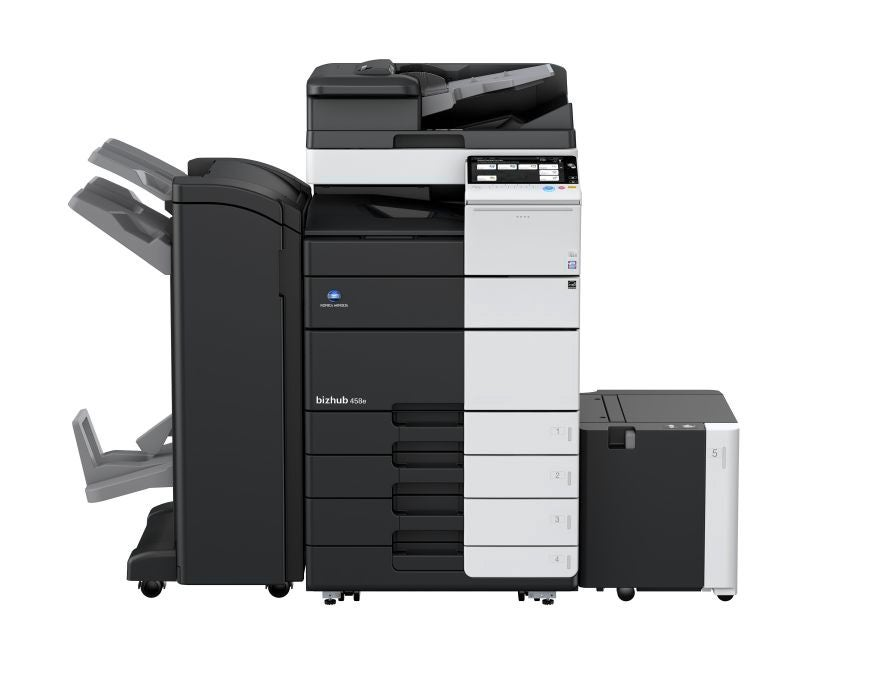 Konica Minolta bizhub 458e multifunktionsprinter