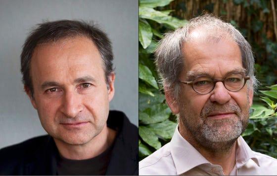 Jim van Os en Peter Groot