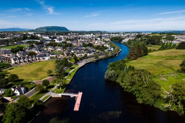 Image of Sligo Town in County Sligo