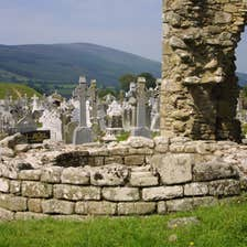 Image of St Mullins Round Tower in County Carlow