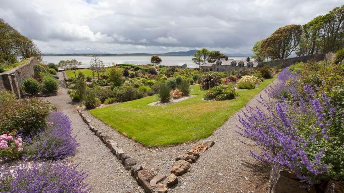 Colourful plants and shrubs at Lissadell House & Gardens, County Sligo