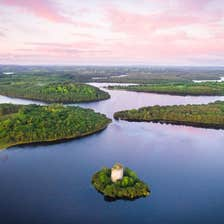 Image of Cloughoughter Castle in County Cavan