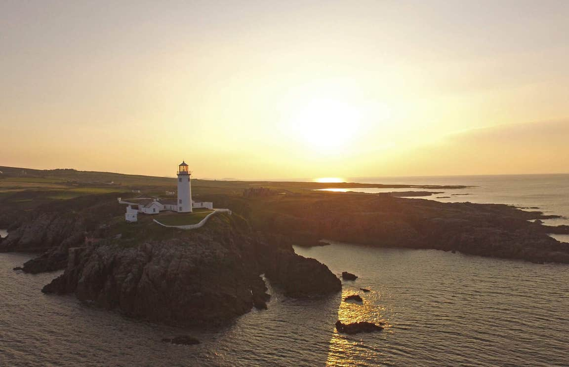 Sunset above Fanad Head Lighthouse, County Donegal