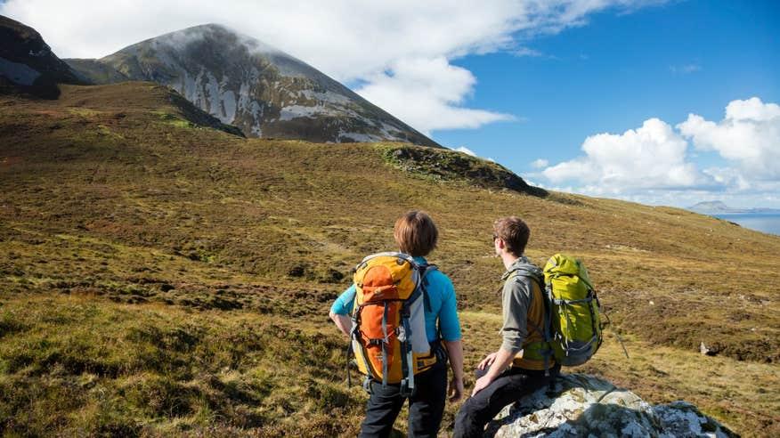 Plot your route up the famous Croagh Patrick.