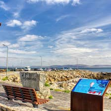 Image of the pier in Spiddal in County Galway