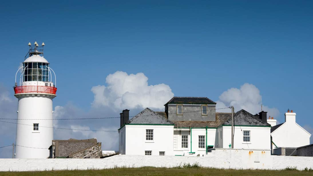 A sunny day at Loop Head Lighthouse, Clare
