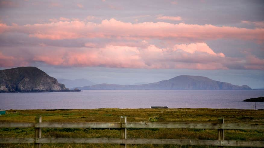 Finish your cycle on the incredible Achill Island.