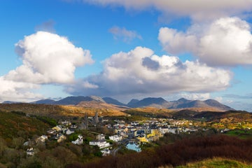 Image of Clifden town in County Galway