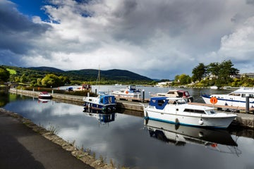 Image of cruisers in Killaloe in County Clare