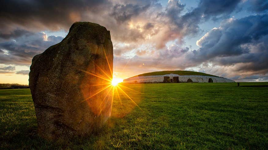 See Newgrange, one of the most iconic places in Ireland.