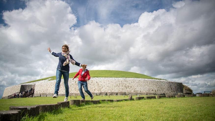 Journey back to prehistory at Newgrange.