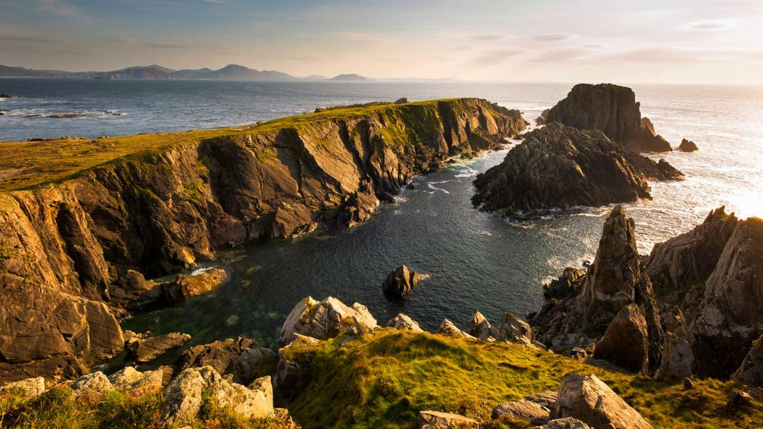 Striking cliffs and sea views at Malin Head, Co. Donegal