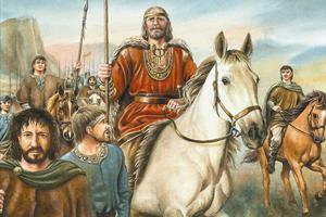 Illustrated image of Brian Ború