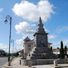 Stone monument in Abbeyleix, Co. Laois