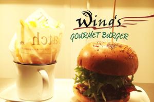 Wing's Gourmet Burger