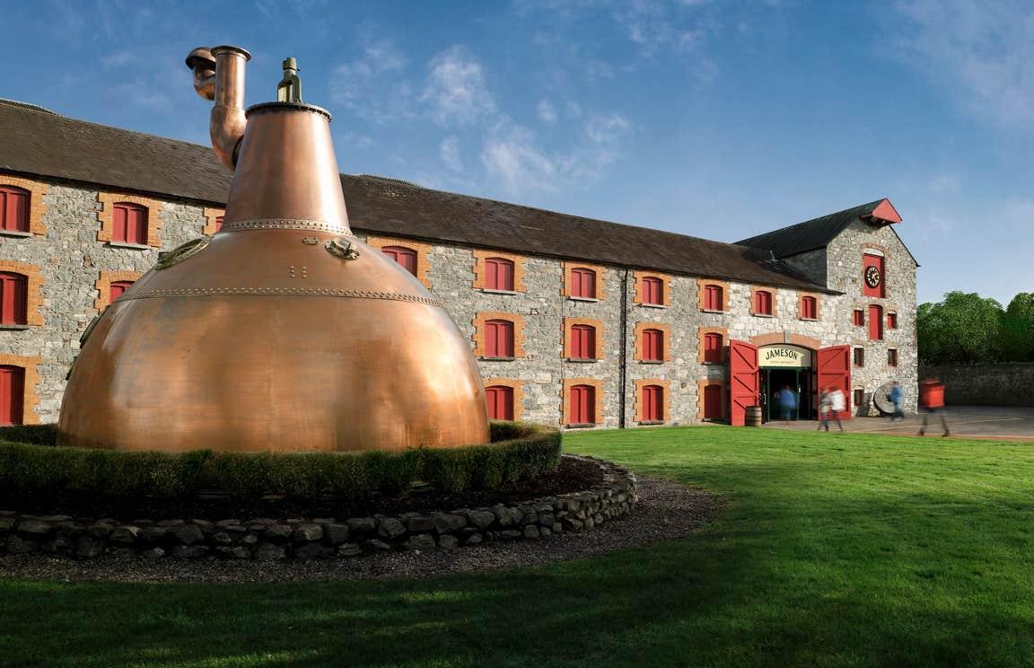 Image of the Jameson Distillery in County Cork