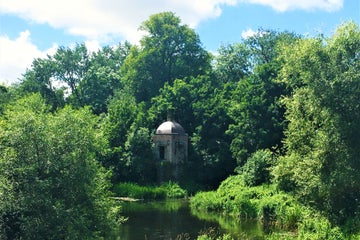 Image of the Castle Boathouse in Lexlip in County Kildare