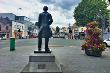 Image of a statue in Naas in County Kildare