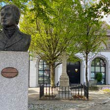 Image of a statue in Kildare Town in County Kildare