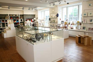 Display cases in the Leitrim Design House