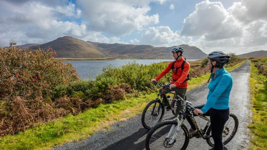 Take in beautiful views along the Great Western Greenway in Co. Mayo