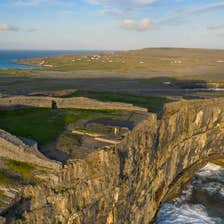 Image of Dun Aengus  Inishmore Aran Islands in County Galway
