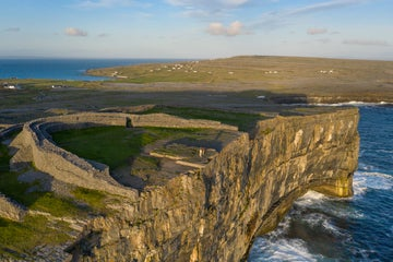 Image of Dun Aengus  Inishmore Aran Islands in County Galway