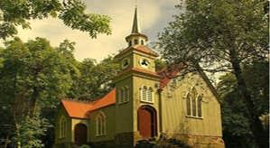 St. Peter's Tin Church Laragh