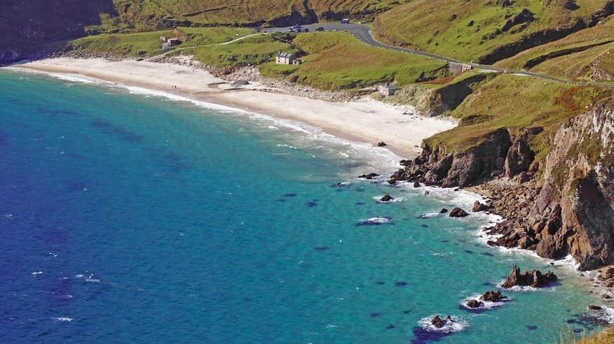 Explore the breathtaking beaches along the Wild Atlantic Way.