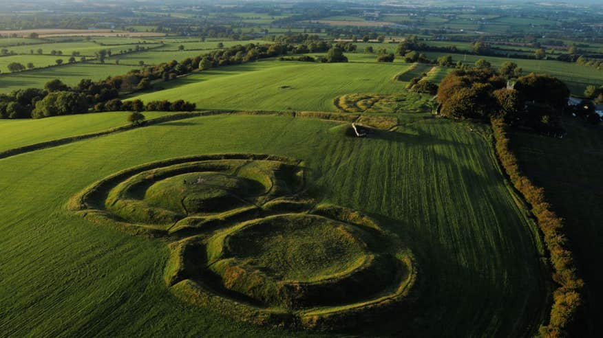 Visit the stunning ritual site, Hill of Tara.