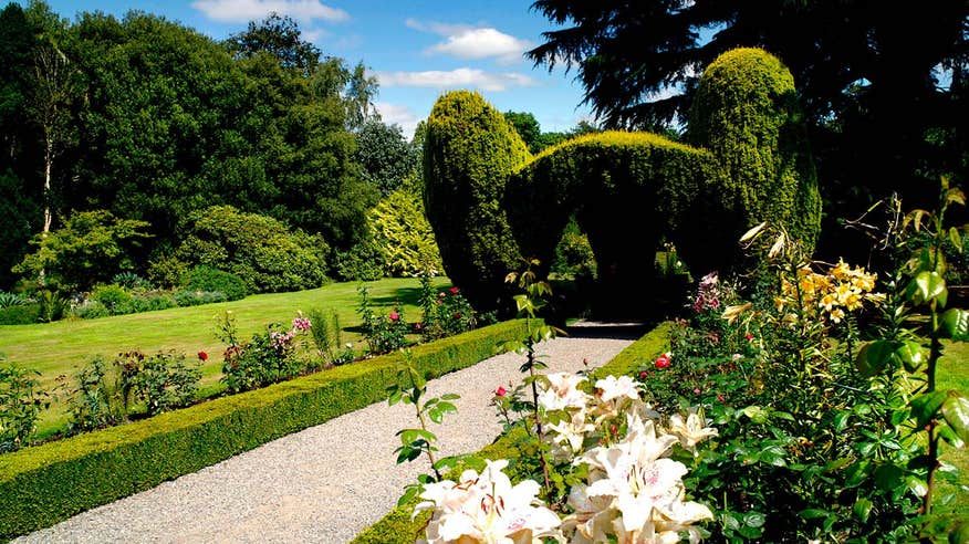 The immaculately maintained Altamont Gardens.
