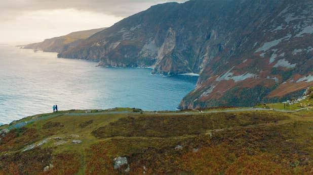 Visit the highestaccessiblesea cliffs in Europe,SliabhLiagin Donegal.
