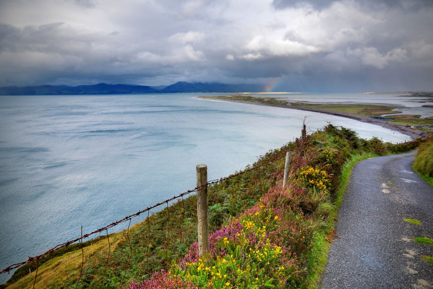 Cycle through stunning scenery on The Ring of Kerry.