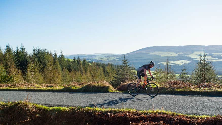 Climb to spectacular views in the Wicklow Mountains National Park.