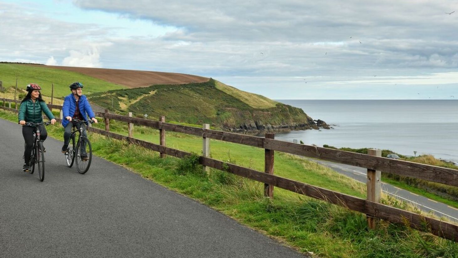 Take the kids on a cycling adventure in Waterford.