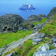 Image of The Skellig Islands - Na Scealga