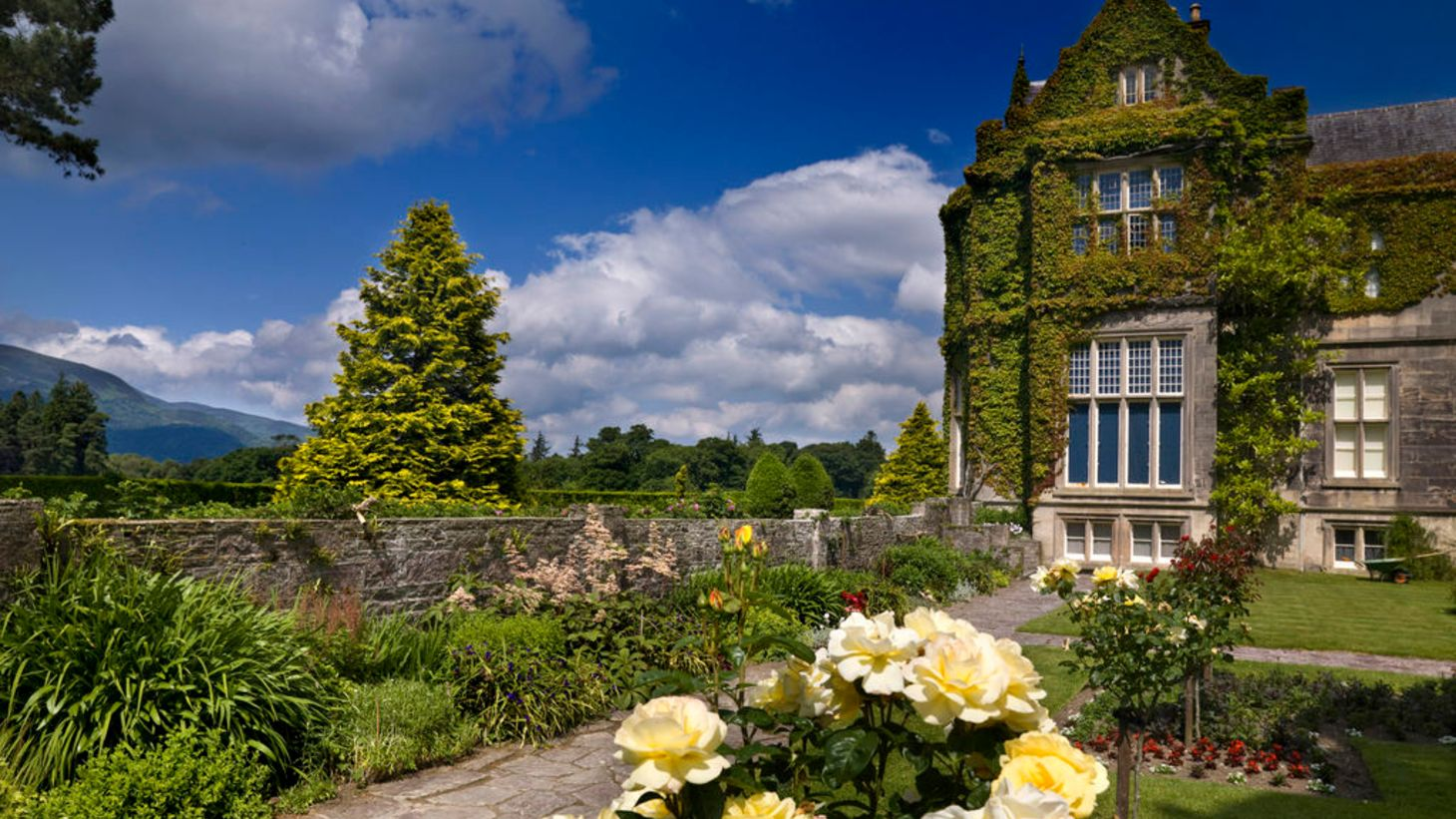 Take the kids to explore the grounds of Muckross House.