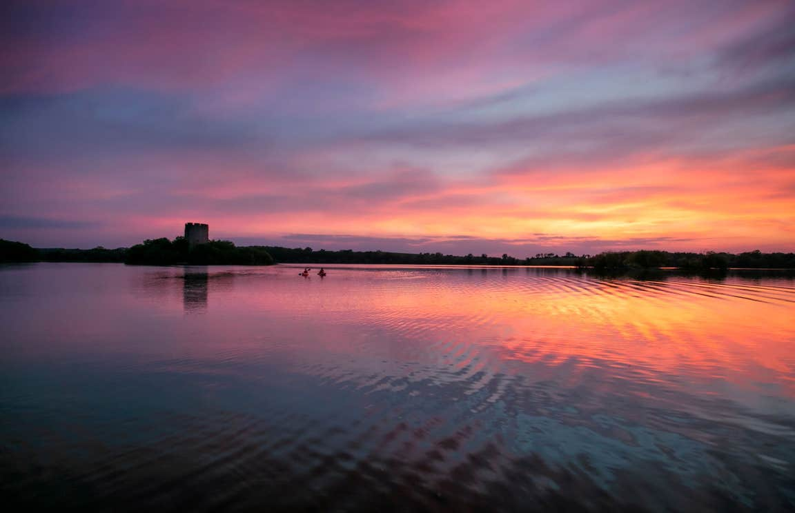 Image of Kayakers on Lough Oughter in County Cavan