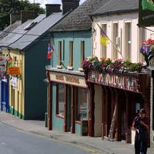 Image of shops in Tullow in County Carlow