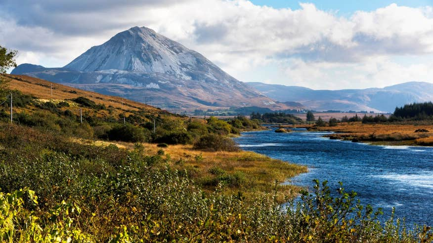 Climb to the striking summit of Donegal's Mount Errigal.