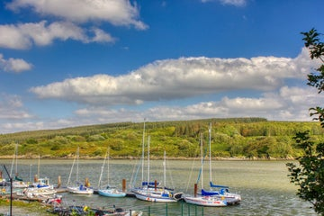Image of boats in Foynes in County Limerick