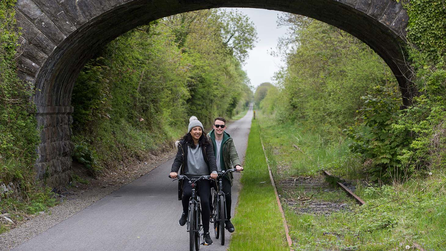 Exploring the Old Rail Trail Greenway by bike