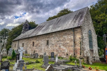 Image of St Cronan's Church in Tuamgraney in County Clare