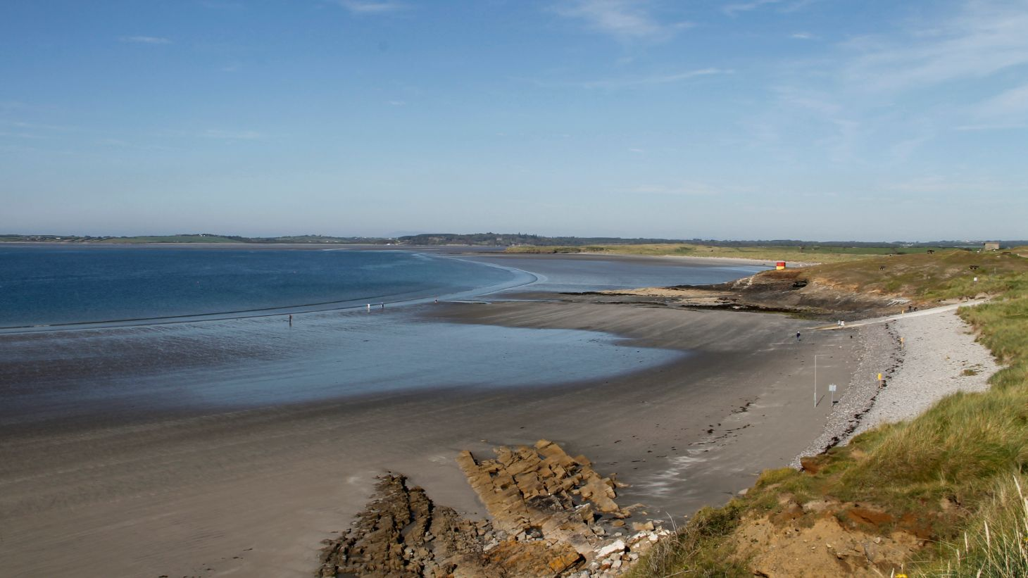 Walk along the beautiful strand at Rosses Point.