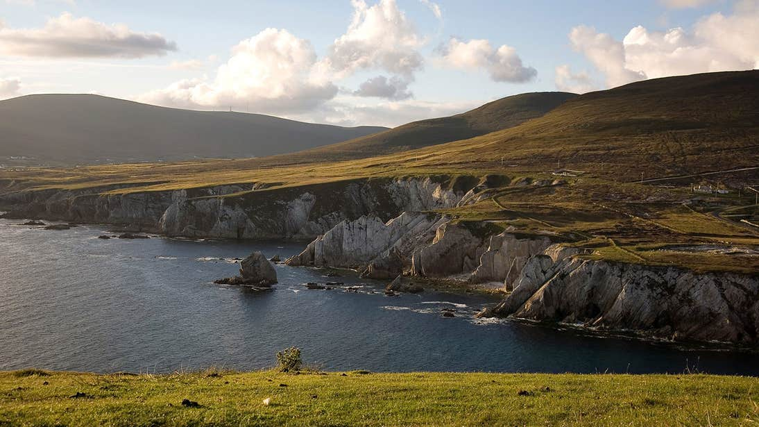 Cliff view at Malin Head, County Donegal