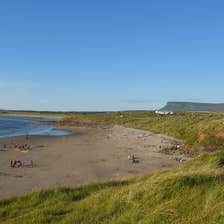 Image of Rosses Point beach in County Sligo