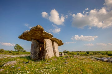Image of the Burren Poulnabrone Dolmen in County Clare